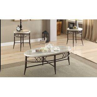 Toslon 3 Piece Coffee Table Set By Latitude Run