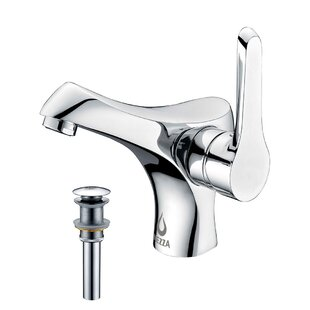 Falcon Bathroom Sink Brass Faucet with Drain Assembly by Nezza