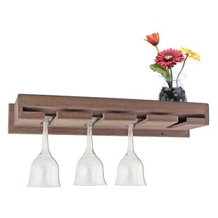 Modern Contemporary Wall Mounted Wine Glass Rack Allmodern