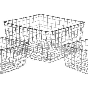 Metal/Wire Basket By Brambly Cottage
