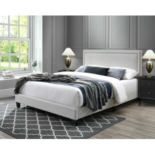 Compare Alcorn Upholstered Platform Bed by House of Hampton Reviews (2019) & Buyer's Guide