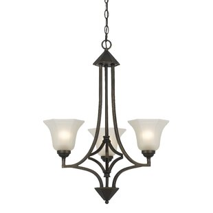 Darby Home Co Imelda 3-Light Shaded Chandelier