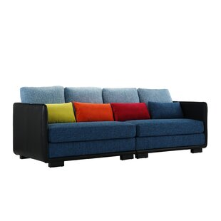 Kirsty 2 PC Convertible Sofa in Multi Colors