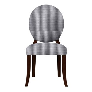 Lashley Solid Back Upholstered Side Chair..