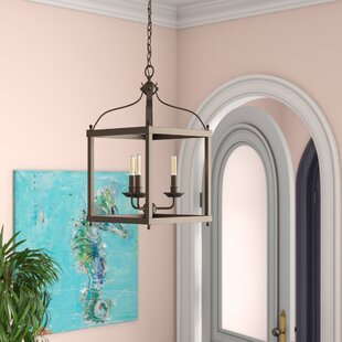 Top Reviews Brumley 3-Light Foyer Pendant By Three Posts