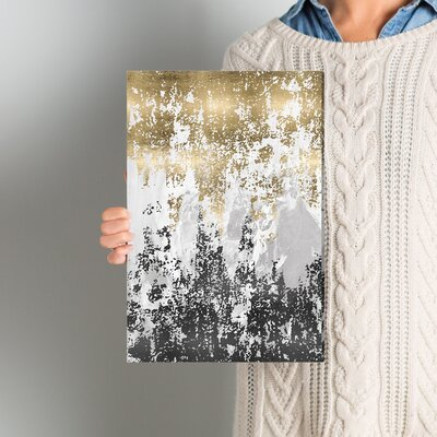 Wrought Studio 'Had a Moment' Painting Print on Wrapped Canvas Size: 15 H x 10 W x 1.5 D
