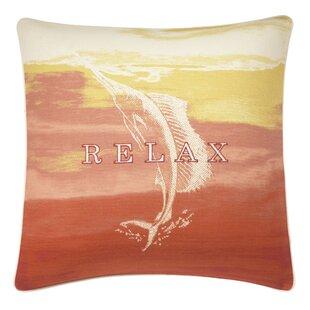 La Scala Breezer Marlin Relax Cotton Throw Pillow