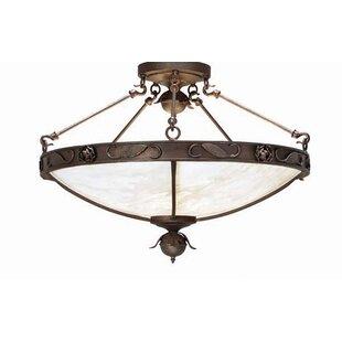 Arabesque 5-Light Bowl Pendant by 2nd Ave Design