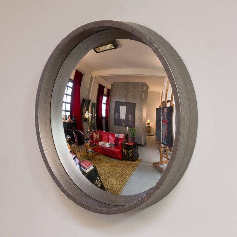 Convex Wall Mirror reflecting design pazzo 27 decorative convex wall mirror & reviews
