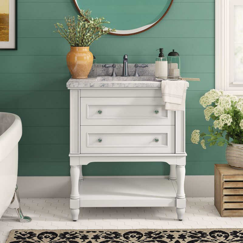 "Cape Cod 30"" Single Bathroom Vanity Set"