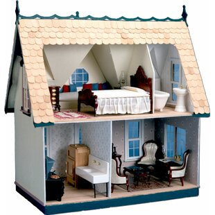 Affordable Orchid Dollhouse By Greenleaf Dollhouses