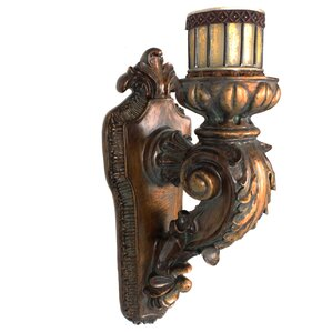 Rusted Wall Sconce Candle Holder Part 46