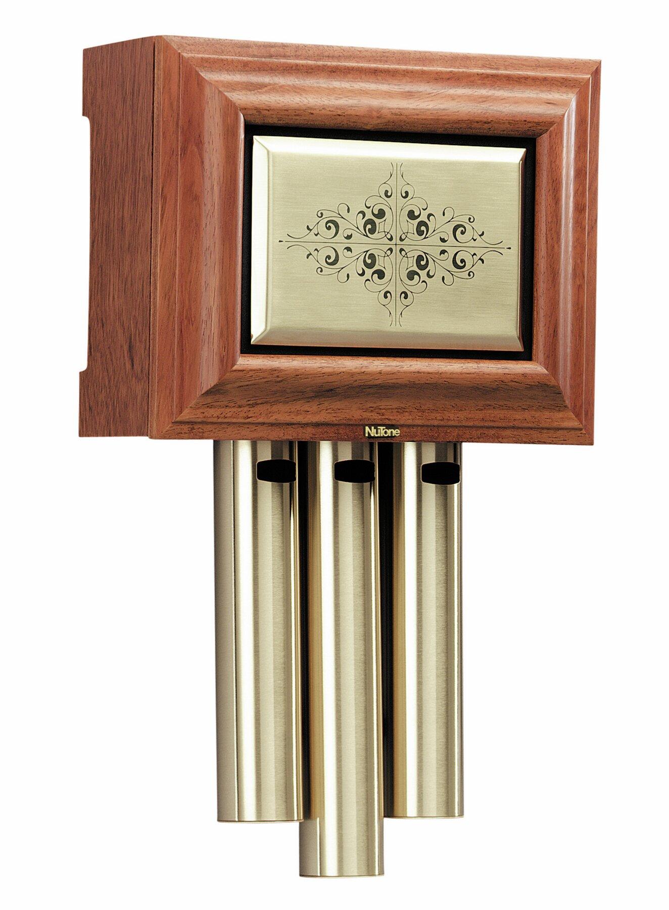 Broan Traditional Musical Wired Door Chime Reviews Wayfair Wiring Doorbell