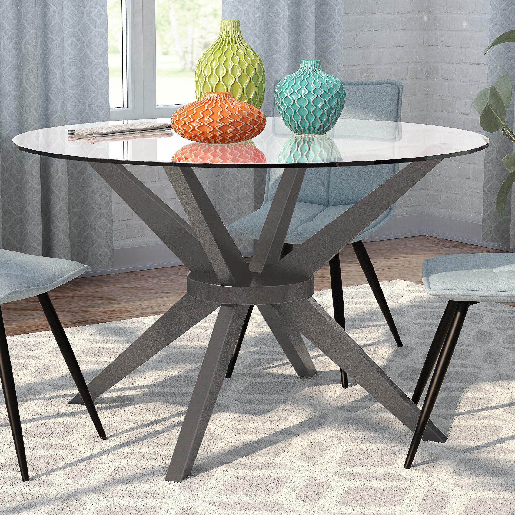 Mercury Row Gochenour Dining Table Reviews Wayfair - Table pads columbus ohio