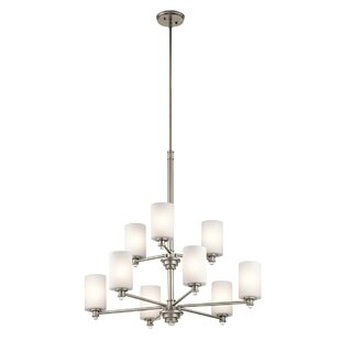 Darby Home Co Bourdeau 9-Light Shaded Chandelier