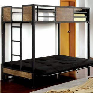 Espanola Twin Futon Bunk Bed by Harriet Bee