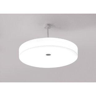 Molto Luce White Belt 1-Light Pendant