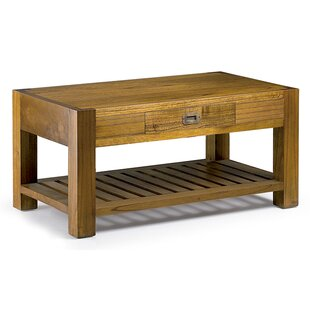 Guildhall Coffee Table With Magazine Rack By Bay Isle Home