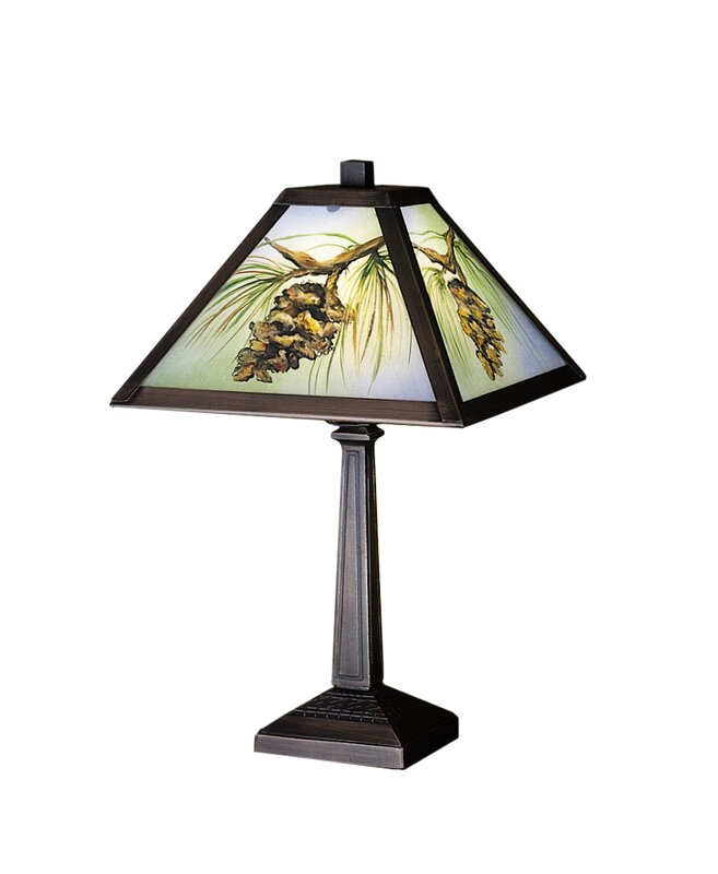 """Rustic Lodge 16"""" Table Lamp"""