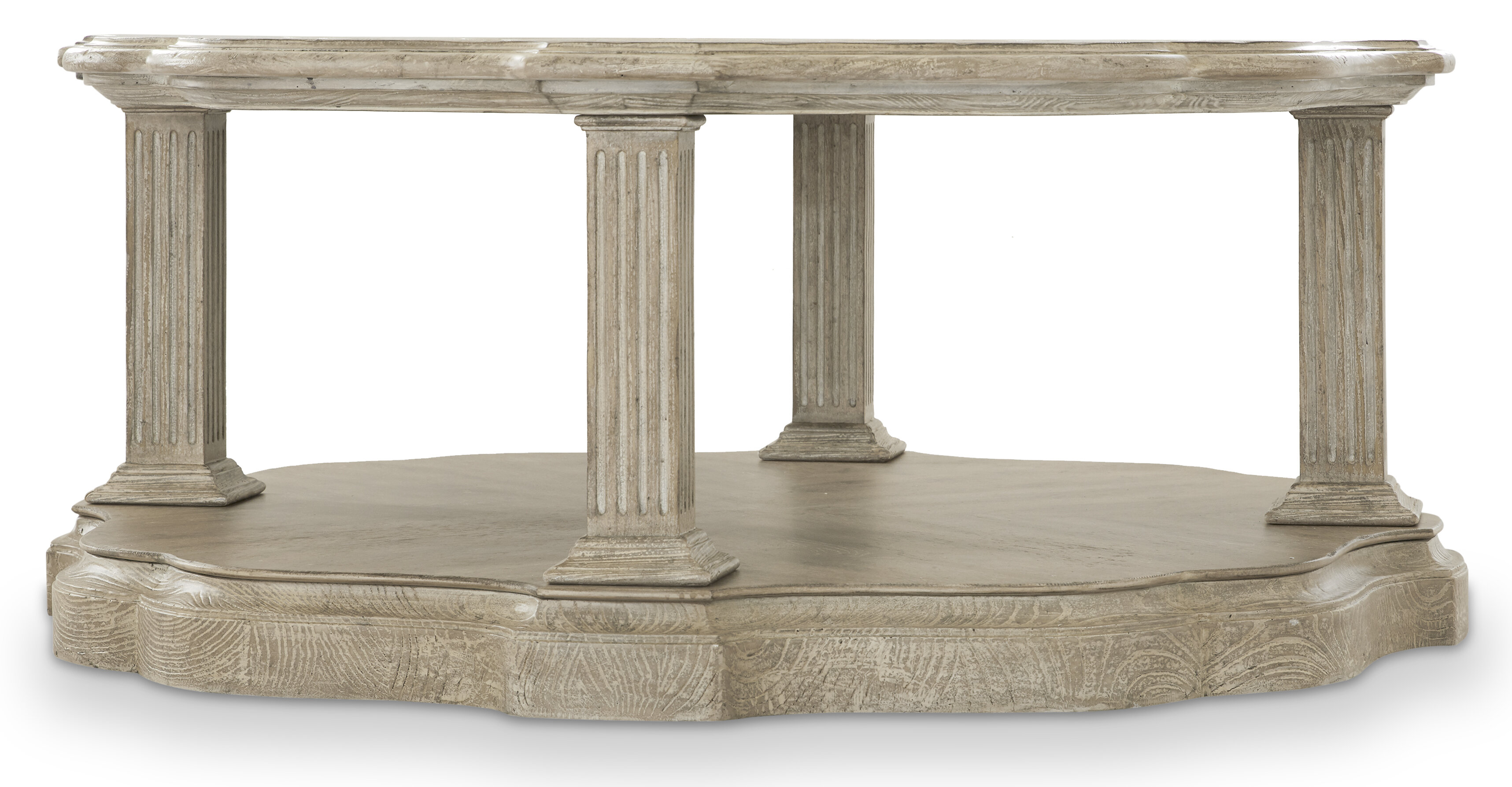 - Hooker Furniture Dahlia Round Coffee Table With Tray Top Wayfair