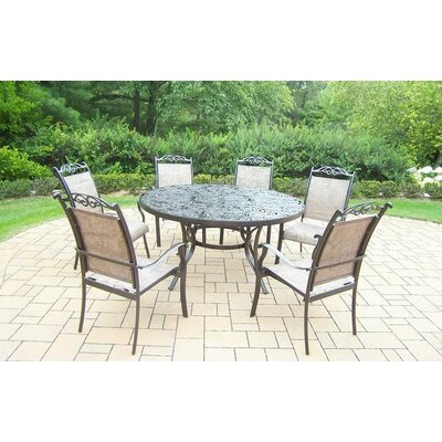 Basile 7 Piece Dining Set by August Grove No Copoun