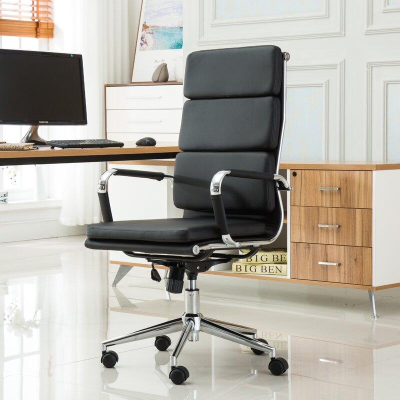 Etonnant Wickham Contemporary High Back Office Desk Chair