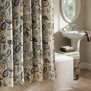 Williams Jacobean Leaf Single Shower Curtain