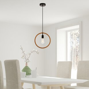 Breakwater Bay Tottenham 1-Light Geometric Pendant