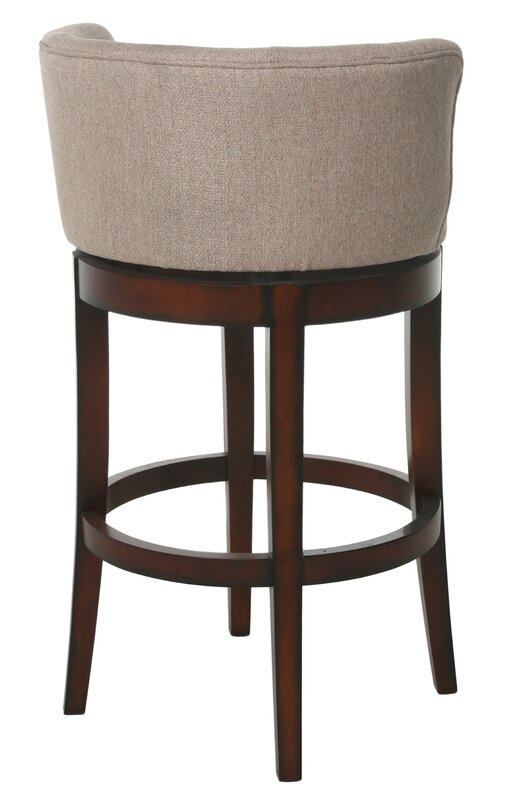 Andover mills markham modern quot swivel bar stool wayfair