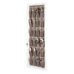 Read Reviews 24-Pocket 12 Pair Overdoor Shoe Organizer (Set of 6) ByWhitmor, Inc