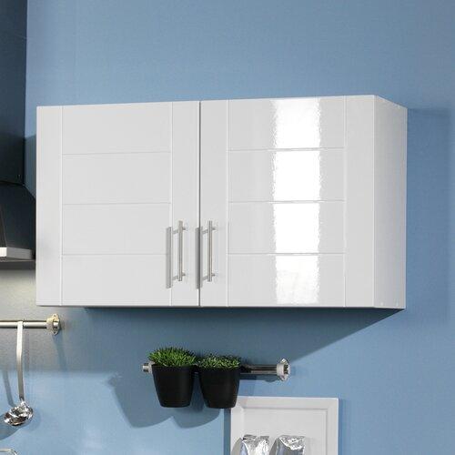 Küchenhängeschrank Ulysses Brayden Studio Farbe (Front): Weiß Hochglanz| Farbe (Korpus): Weiß | Küche und Esszimmer > Küchenschränke > Küchen-Hängeschränke | Brayden Studio