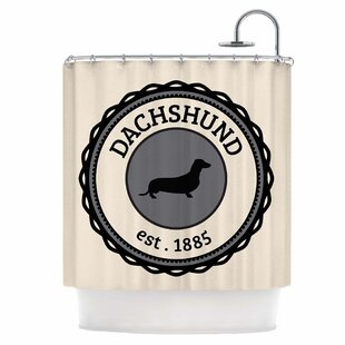 Dachshund Single Shower Curtain
