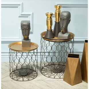 Colt 2 Piece End Table Set by Ivy Bronx
