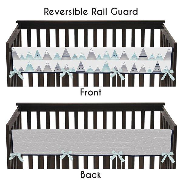 Sweet Jojo Designs Mountains Geometric Crib Rail Guard Cover Wayfair