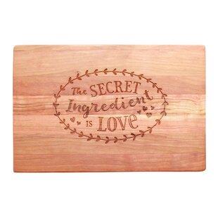 Daviston Cherry Wood Cutting Board