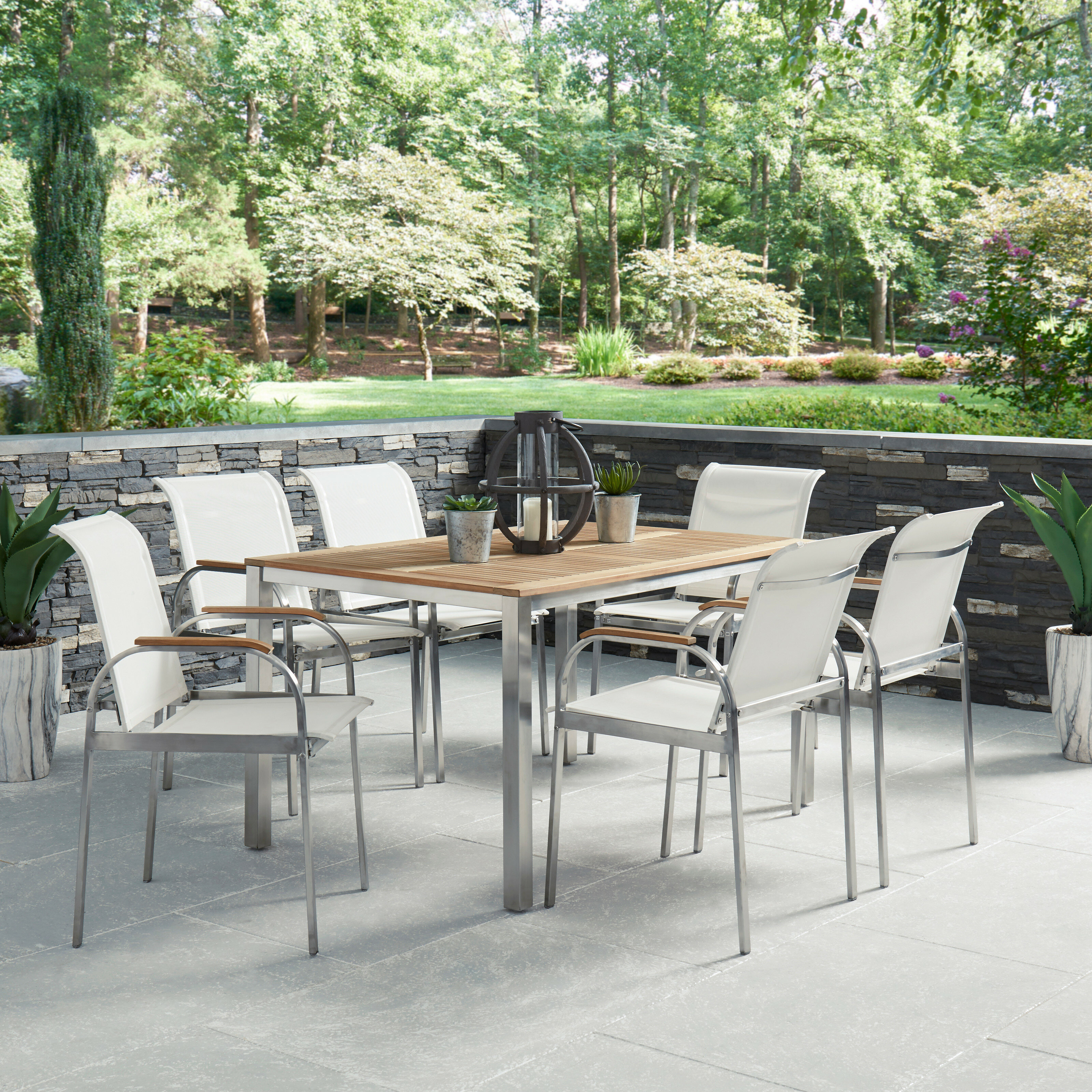 Merrit 7 Piece Teak Dining Set