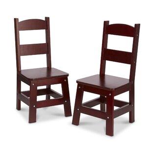 Price Check Kids Desk Chair (Set of 2) ByMelissa & Doug