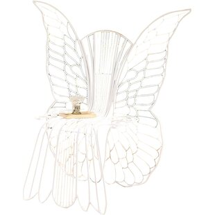 Wind & Weather Metal Angel Wing Chair