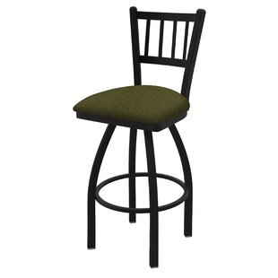 Nicolai 30 Swivel Bar Stool Red Barrel Studio
