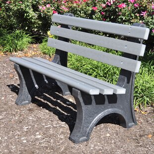 Aiden Recycled Plastic Park Bench