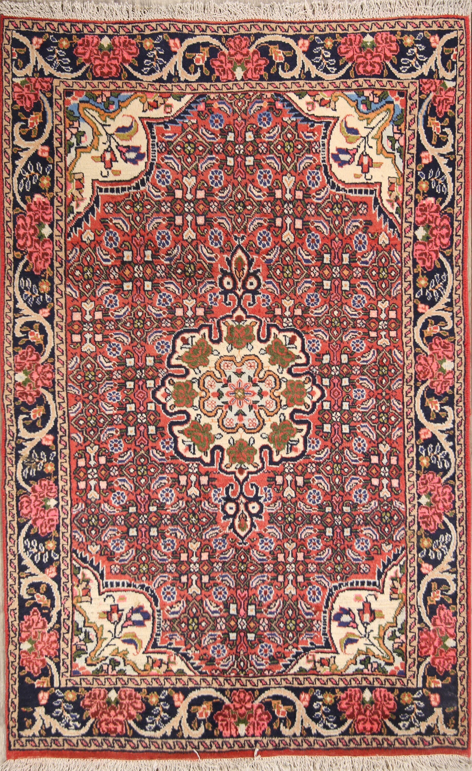 Isabelline One Of A Kind Myatt Bidjar Vintage Persian