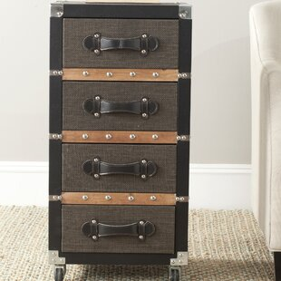 Clarkdale Rolling 4 Drawer Chest By Borough Wharf