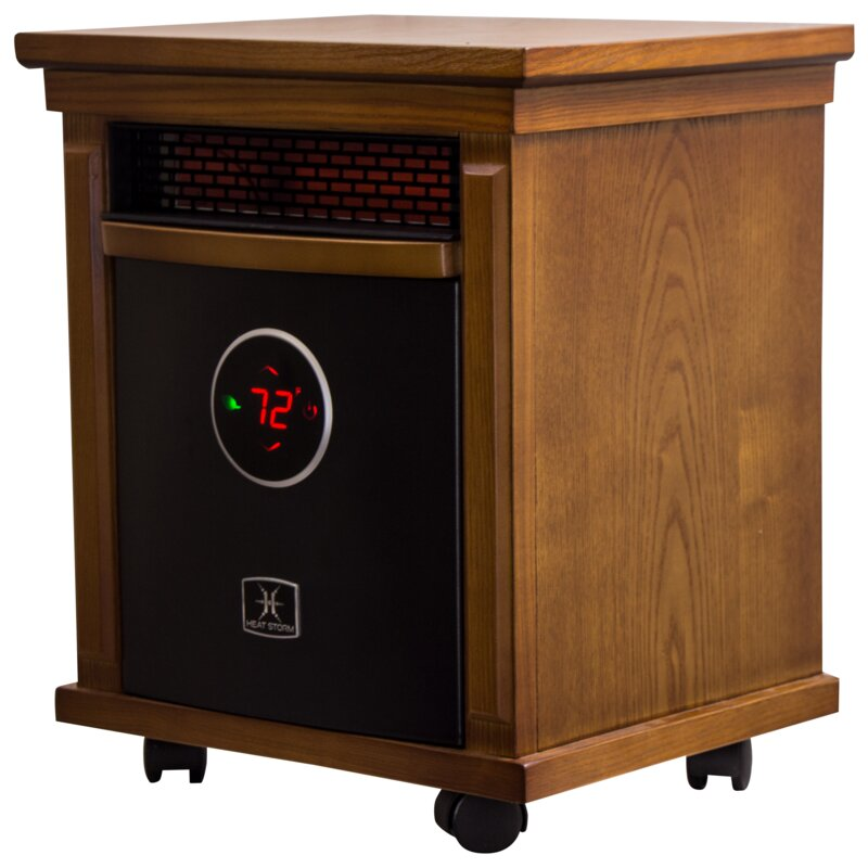 Charmant Smithfield 1,500 Watt Portable Electric Infrared Cabinet Heater