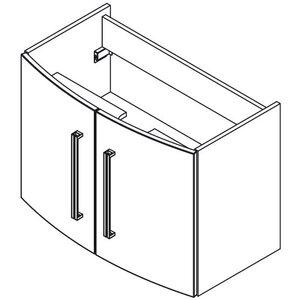 Fackelmann 80,5cm Waschtisch-Set