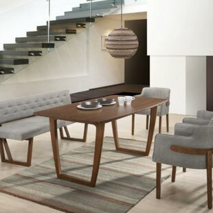 Carmella Rectangular Wooden Dining Table by Corrigan Studio