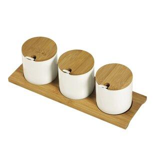7 Piece Coffee, Tea, & Sugar Jar Set