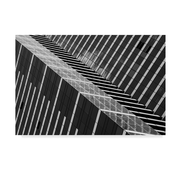 East Urban Home Dizzy Architecture Photographic Print On Wrapped Canvas Wayfair