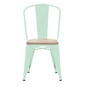 Halie Matte Mint Light Elm Wood Side Chair (Set of 4) (Set of 4) by Trent Austin Design