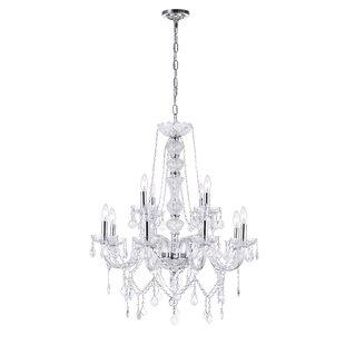 Astoria Grand Yigal 12-Light Chandelier