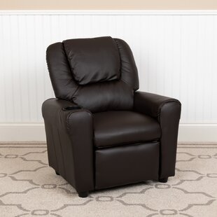 Magnificent Blevins Kids Recliner With Cup Holder Pabps2019 Chair Design Images Pabps2019Com